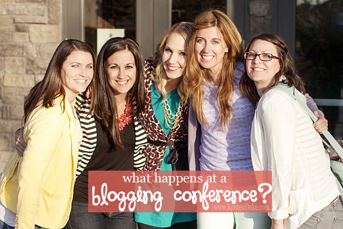 what happens at a blogging conference