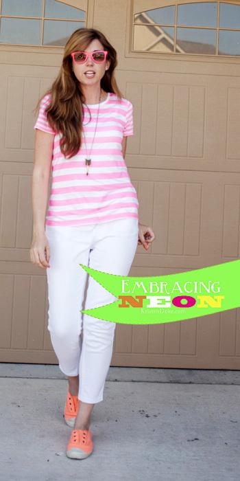 Neon clothing trend www.KristenDuke.com #neon #fashion