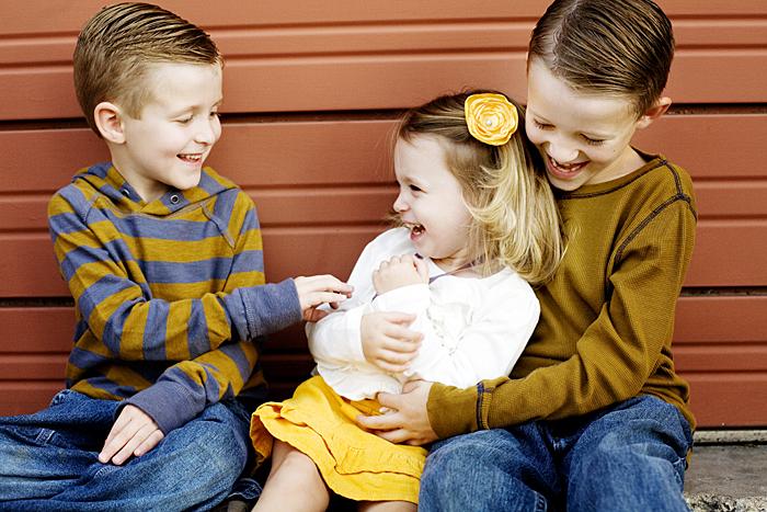 kids laughing