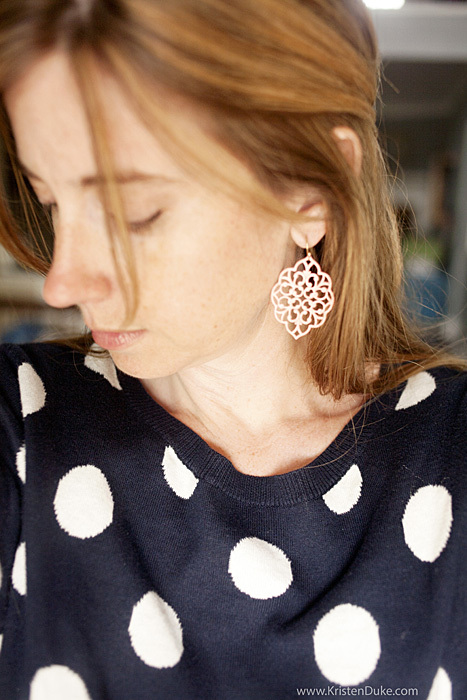Every Day Icing earrings