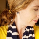 Everyday Icing Anchor Earrings