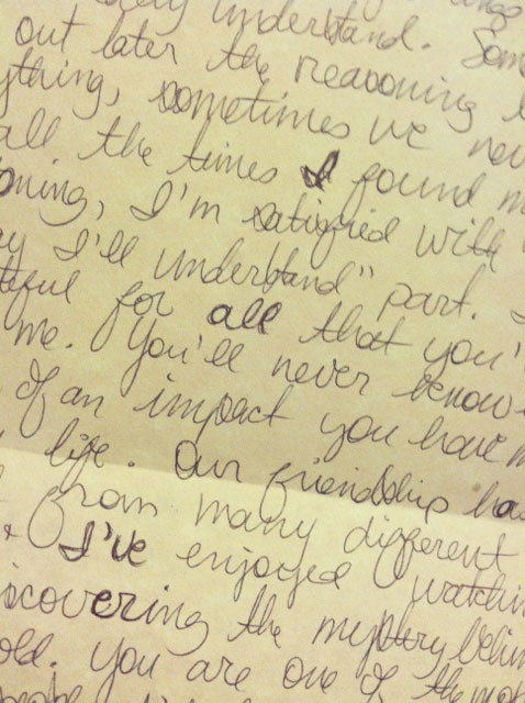 love story letter kristen duke