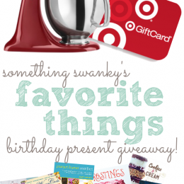 Win a Kitchen Aid Mixer, Target Gift Card, or some Amazing blogger Cookbooks!