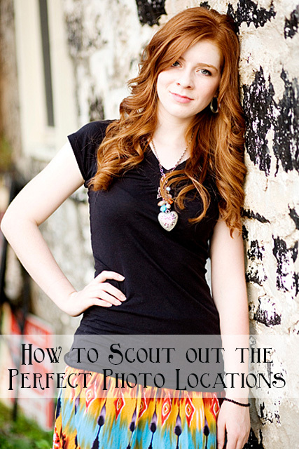 how to scout out perfect photo locations