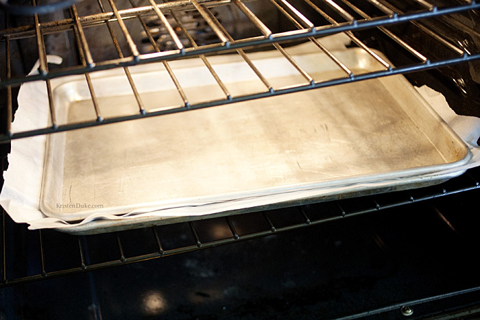 layer baking sheet