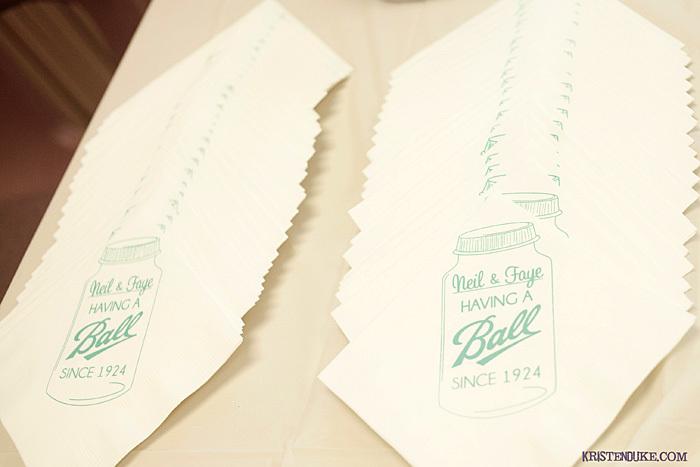 the paper hat custom napkins