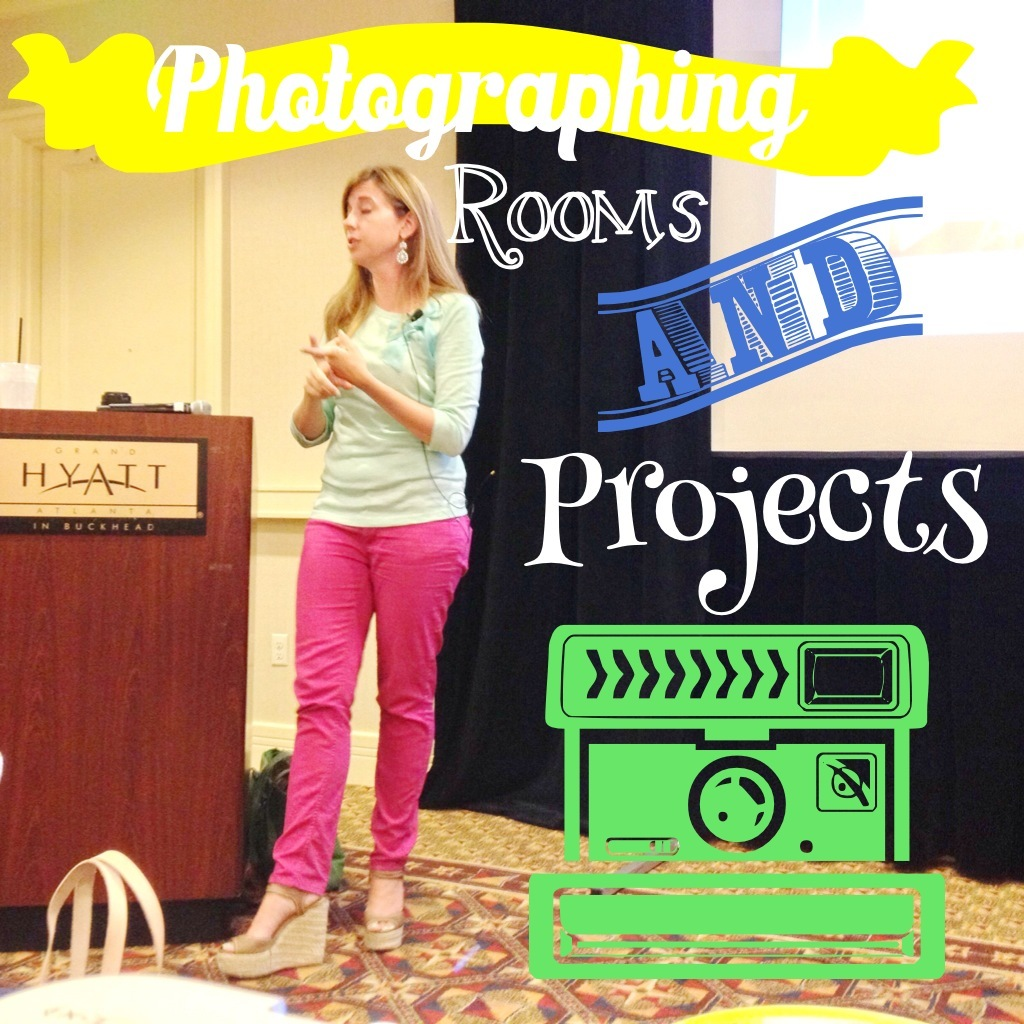 photographing rooms and projects
