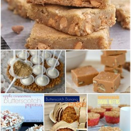 Butterscotch Recipes