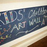 Chalk Art Wall