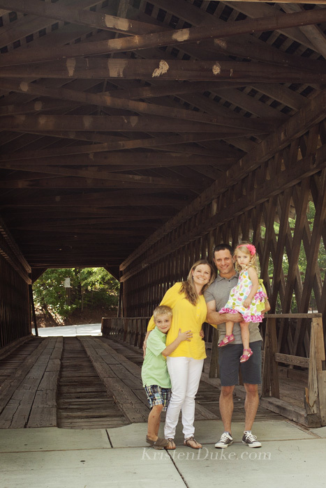 Covered Bridge Portraits