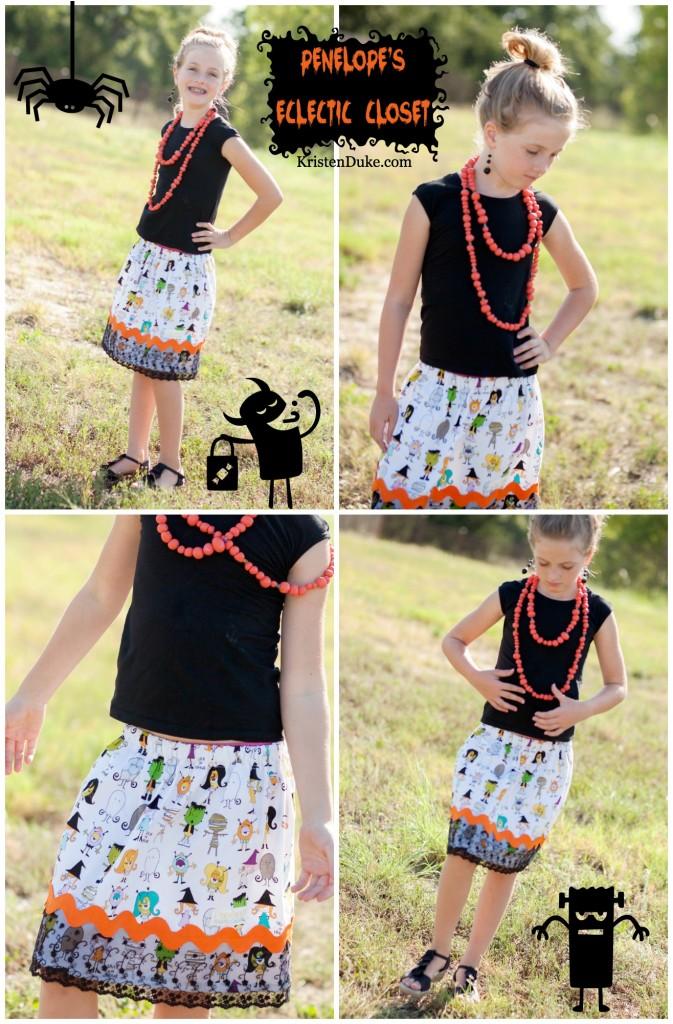 Halloween skirt