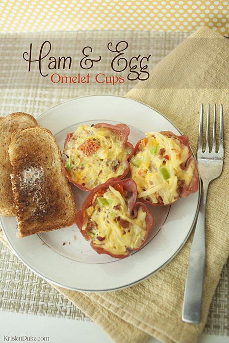 Egg Beater Recipe Ham and Egg Cups