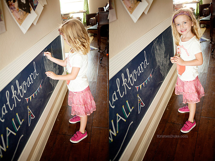 chalkboard wall for kids