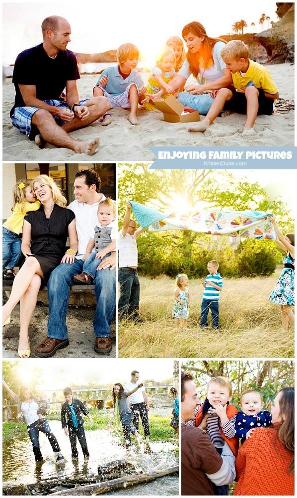 Enjoying Family Pictures