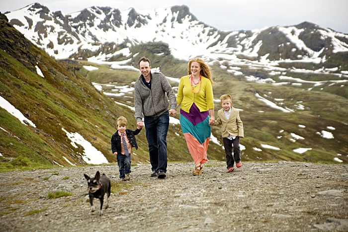 Alaska Family Pictures