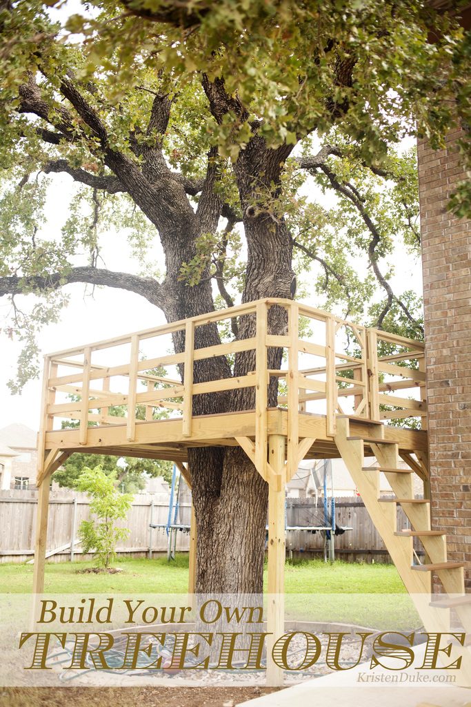 Build your own treehouse for Build your own house