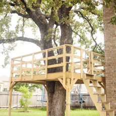 Do It Yourself Treehouse