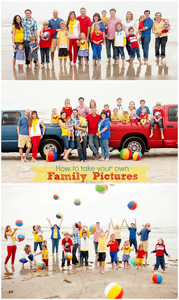 How to take your own family pictures