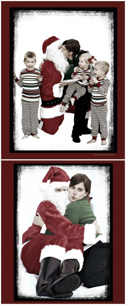 I saw Mommy Kissing Santa Clause