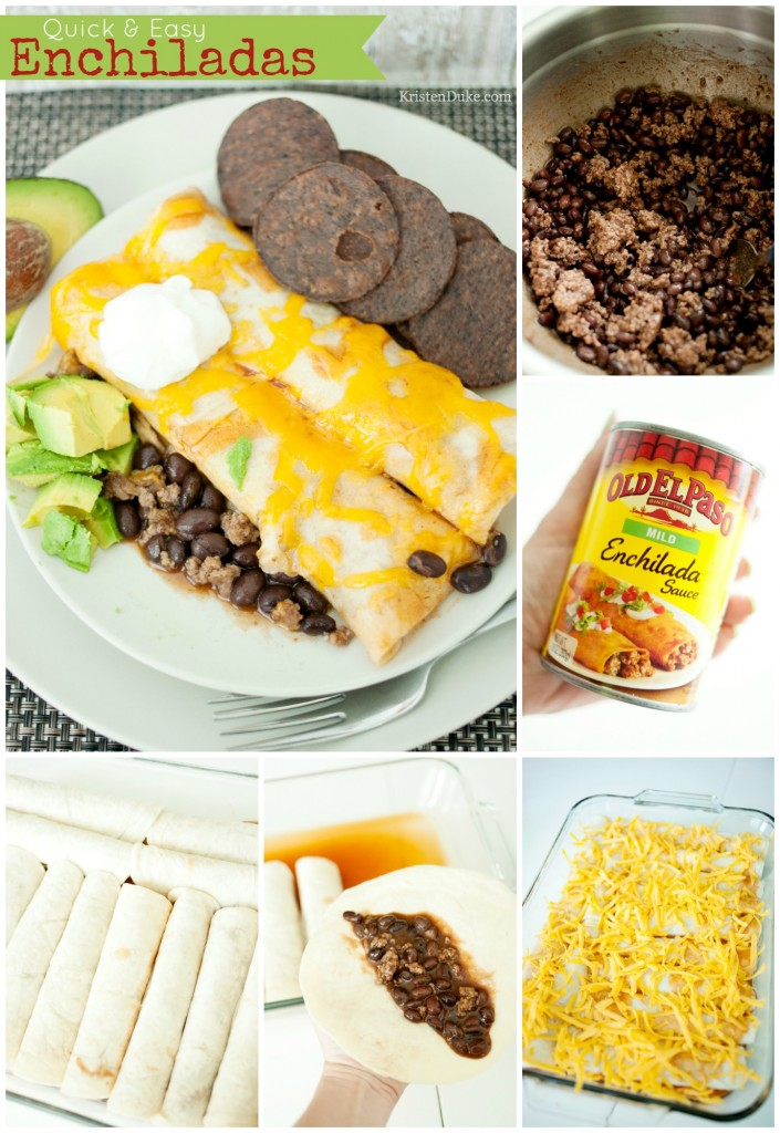 How to Make Easy Enchiladas