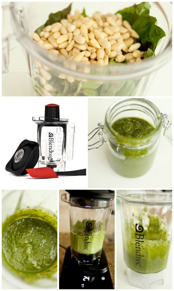 How to Make Pesto with Blendtec
