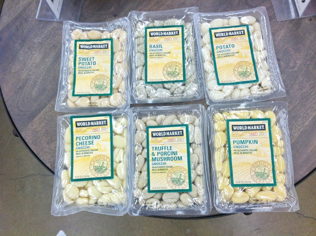 World Market Gnocchi flavors