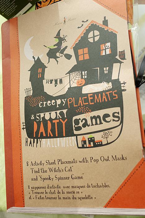 World Market Halloween Activity Book
