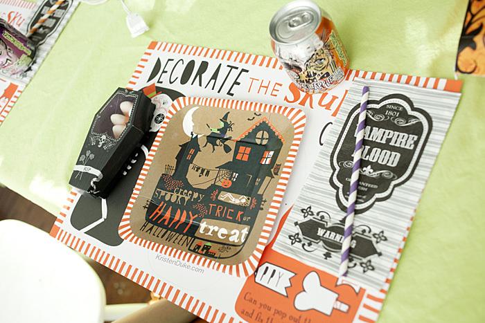 World Market Halloween papaer plates