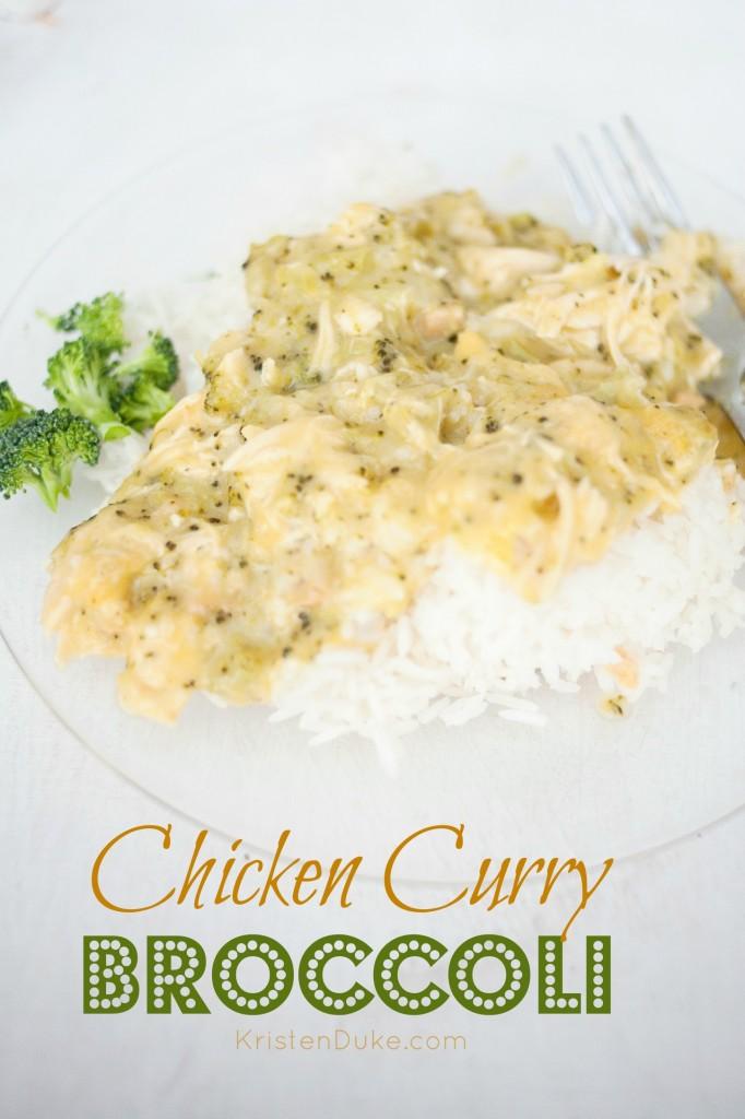 chicken curry broccoli recipe
