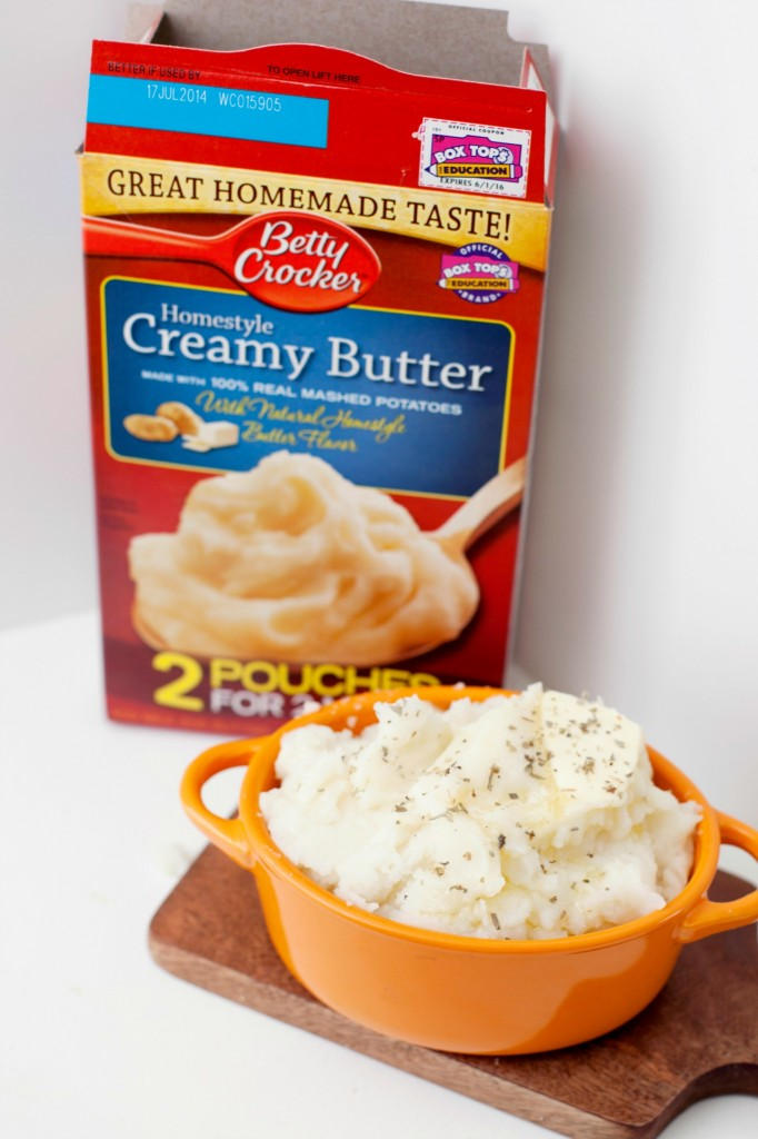 Betty Crocker Homestyle Creamy Butter real mashed potatoes