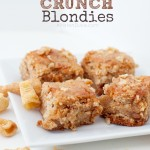 Caramel Crunch Blondies
