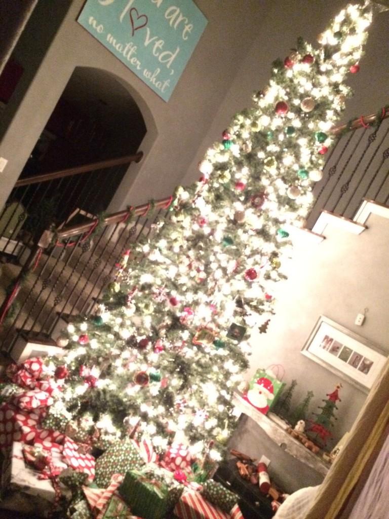 Duke Christmas tree
