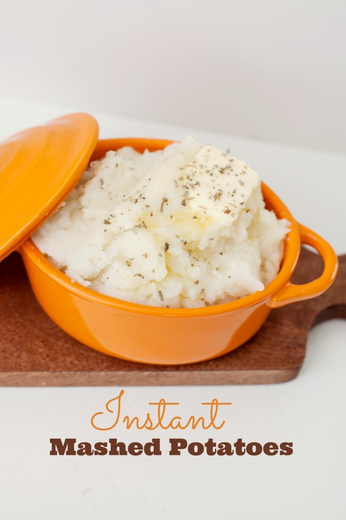 Instant Mashed Potatoes