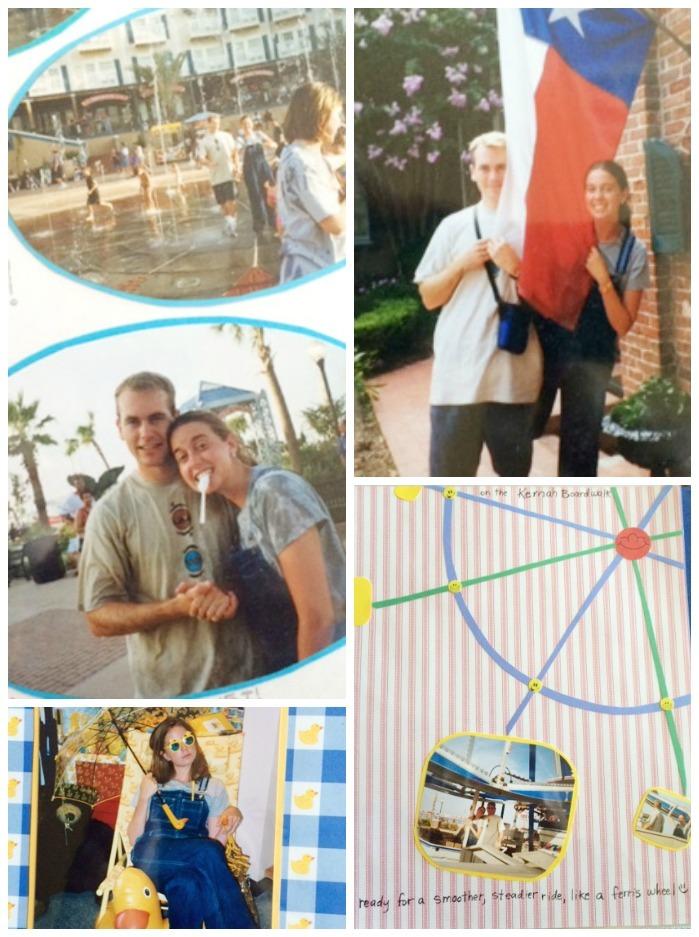 ferris wheel boardwalk