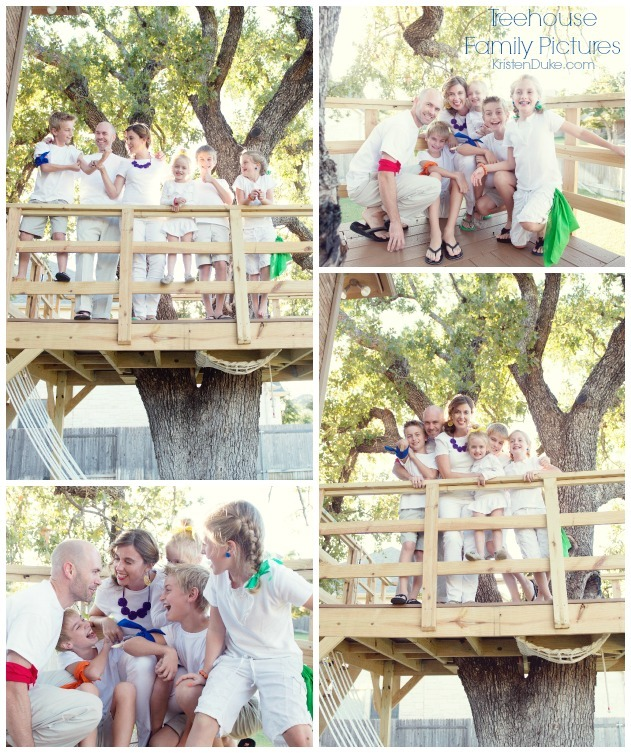 treehouse family pictures