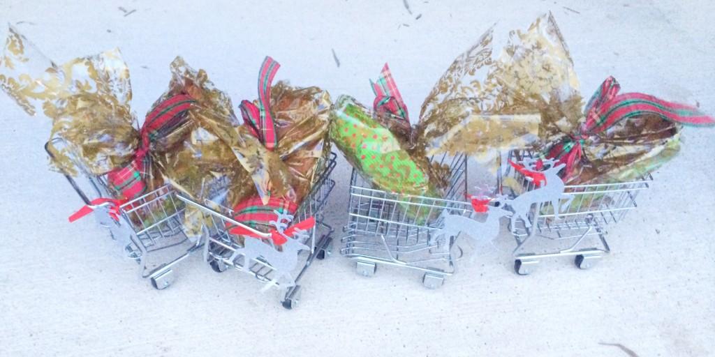 world market mini shopping cart