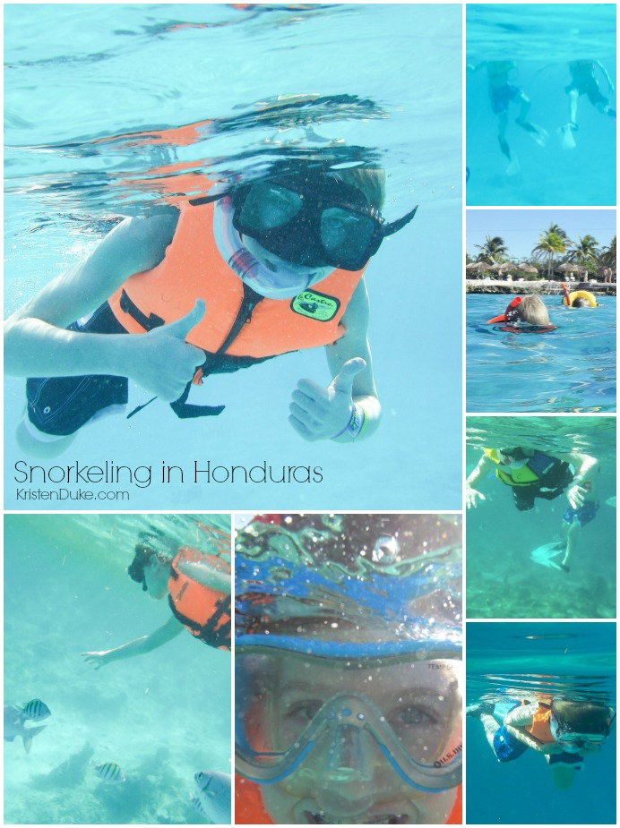 Coral Reef Snorkeling in Honduras