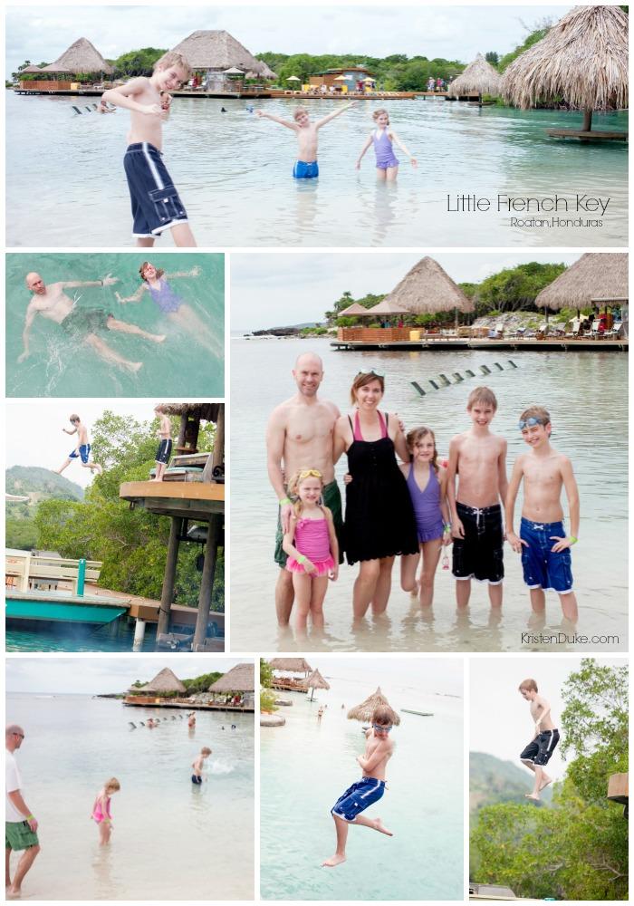 Honduras Beach Snorkeling