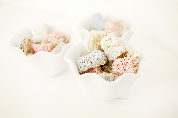 Kellogg's Frosted Mini Wheat cereal for after school snack