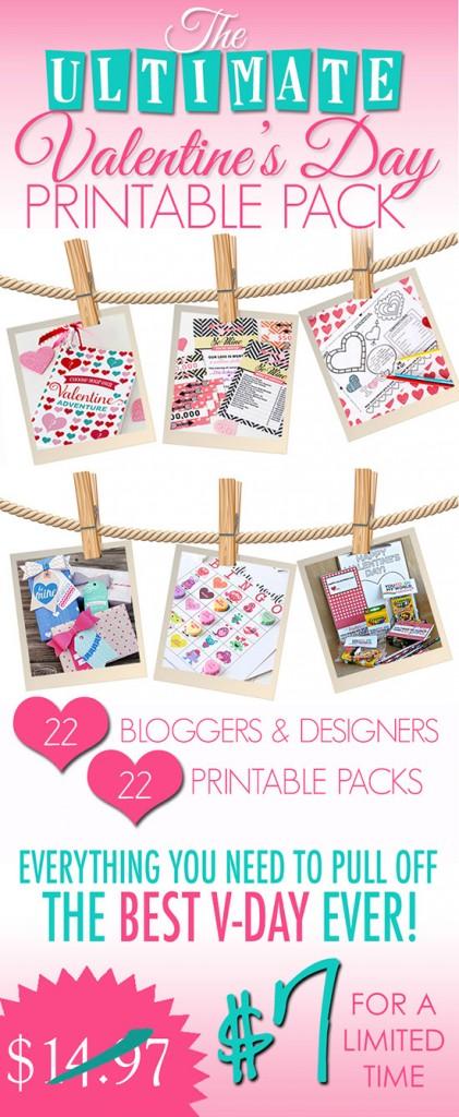 Valentine's Printable Pack