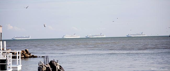 cruise ships tender