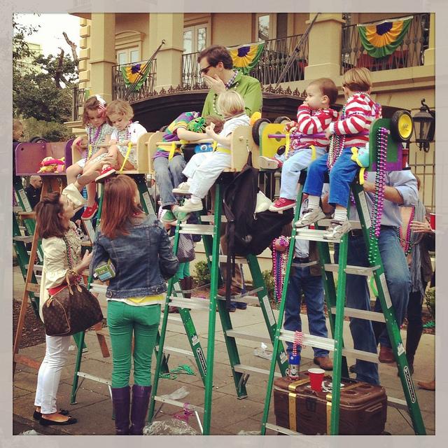 mardi gras ladder