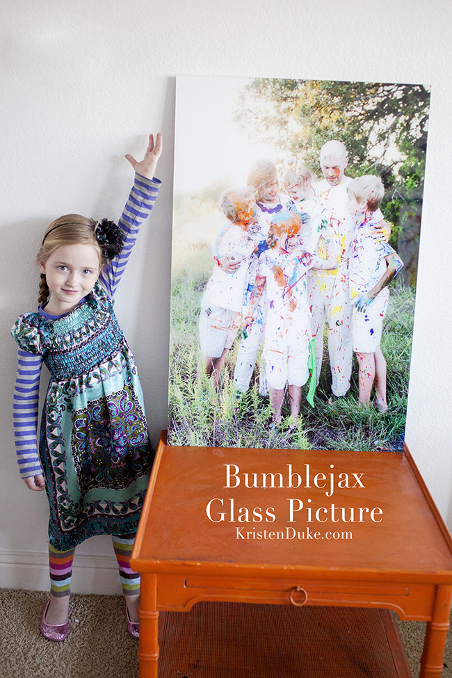 Bumblejax Glass Picture