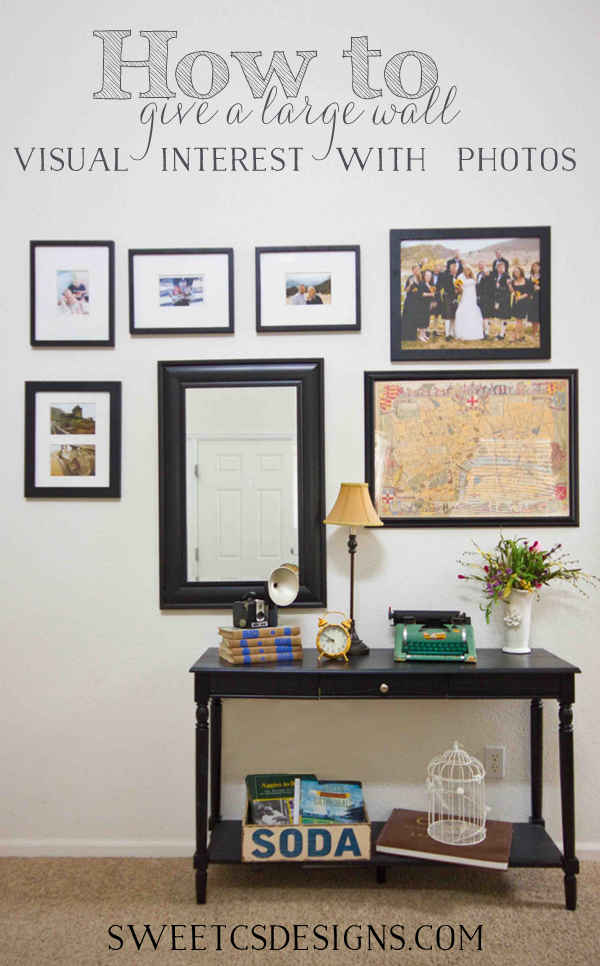 Decorating a large wall with photos - How to decorate your house ...