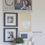small-gallery-wall-with-monogram-photo-board