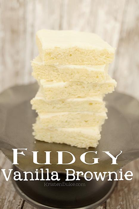Fudgy-Vanilla-Brownie