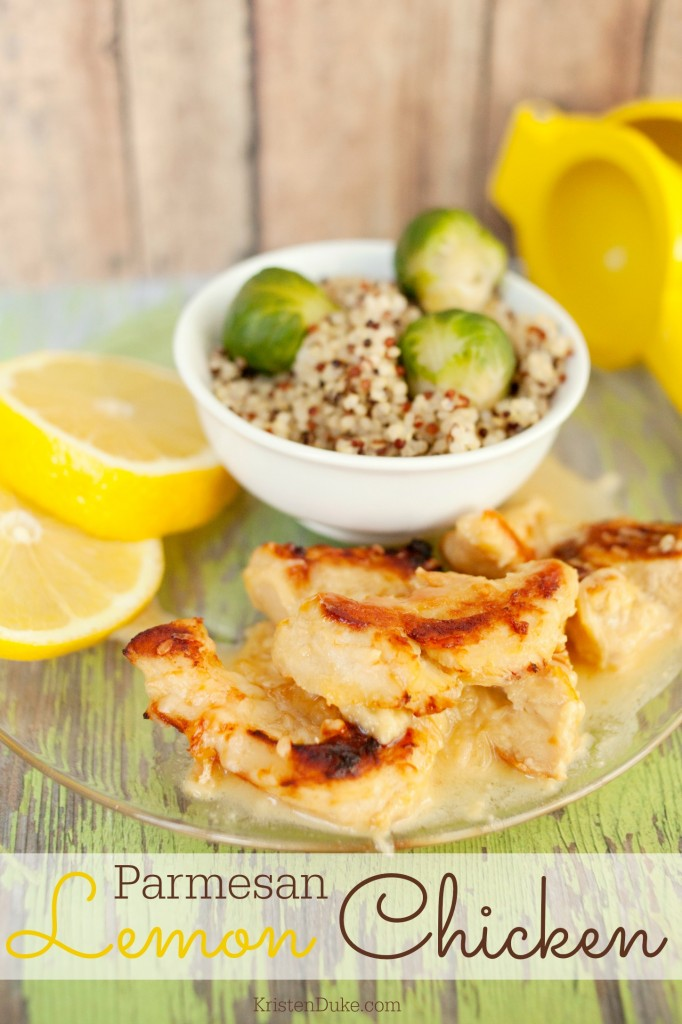 Parmesan Lemon Chicken