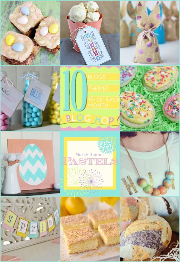 10 adorable pastel spring projects and recipes!