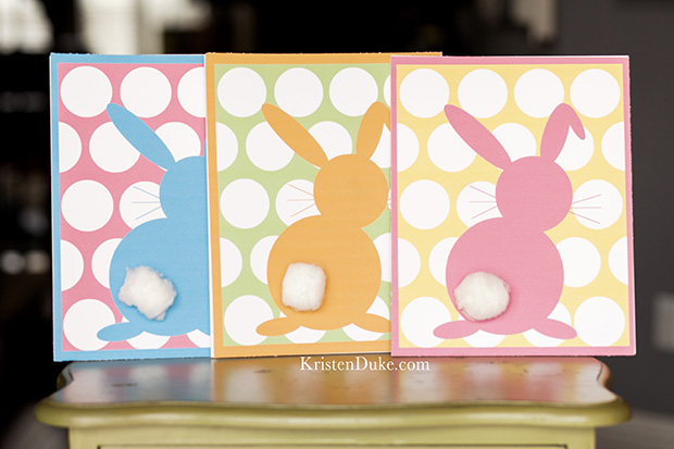 easter bunny free printable at KristenDuke.com