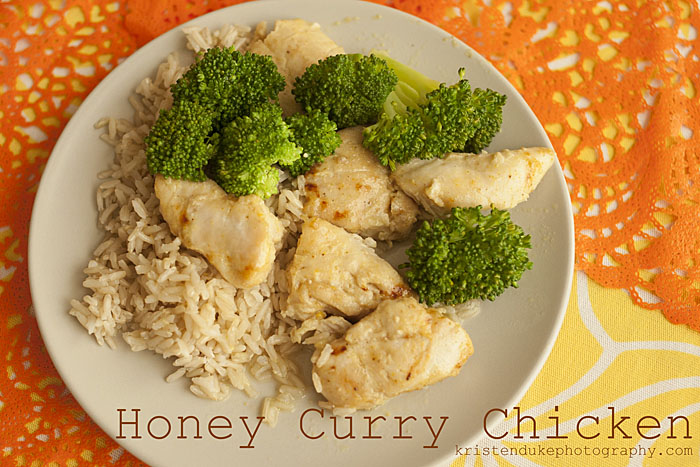 honey-curry-chicken